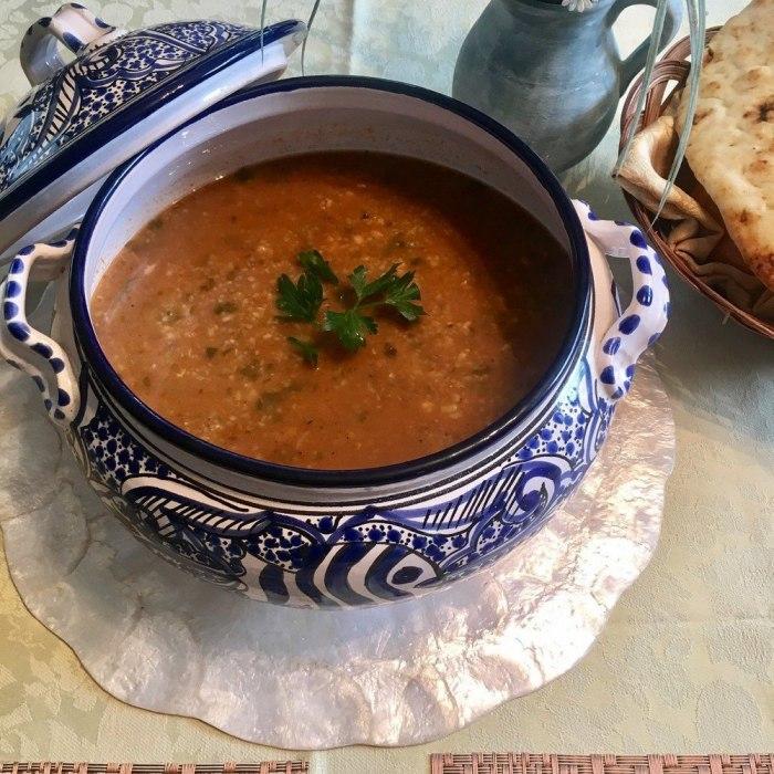 Tunisian Lamb Soup