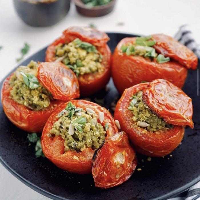 Stuffed Lamb Tomatoes